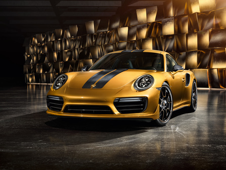 911 Turbo S Exclusive.